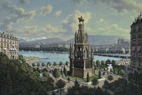 Monument Brunswik Genf