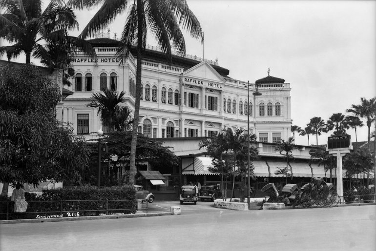 Raffles Hotel Singapur 1932