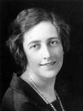 Porträtbild von Agatha Christie 1925