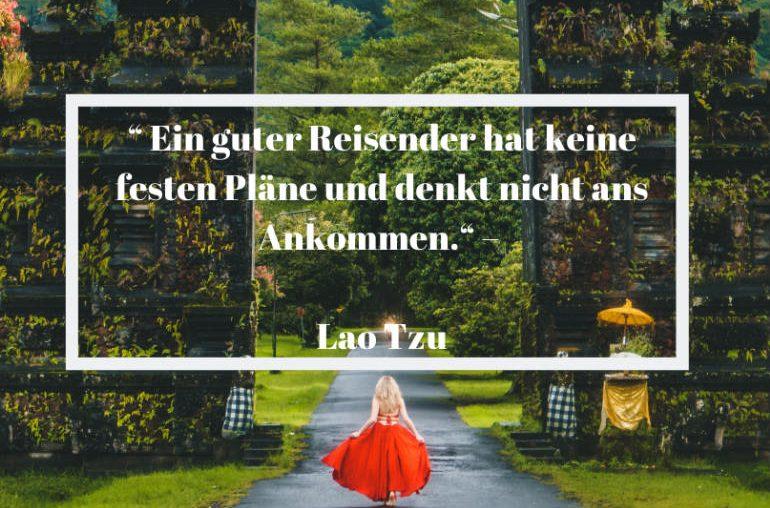 Reisezitat Lao Tzu