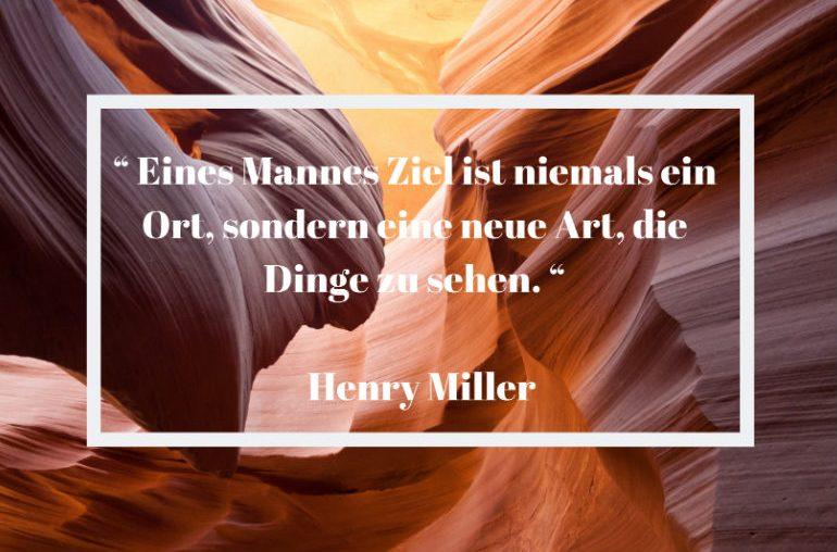 Reisezitat Henry Miller