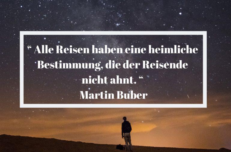 Reisezitat Martin Buber