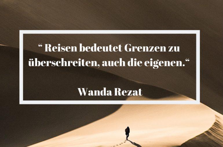 Reisezitat Wanda Rezat