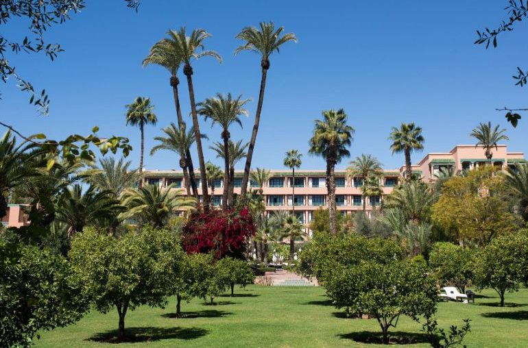 Exterior La Mamounia Hotel Marrakech