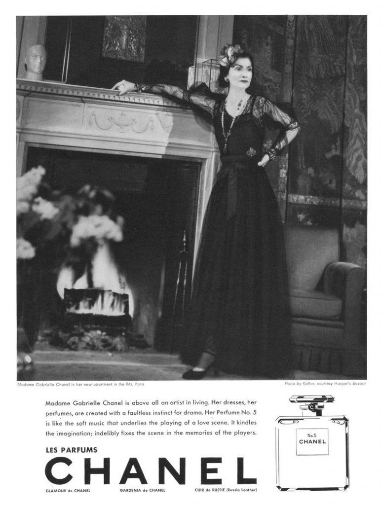 Chanel Anzeige 1937