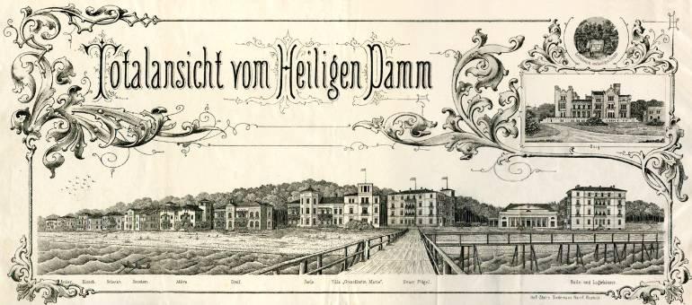Grand Hotel Heiligendamm um 1880