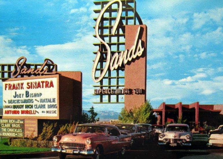The Sands Hotel Las Vegas 1959